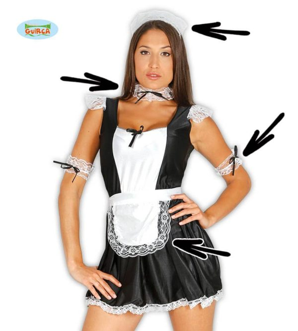 Womens Maid Waitress Set