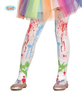 Children's Carnival Paint Tights