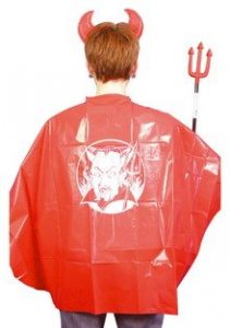 Childrens Halloween Red Cape