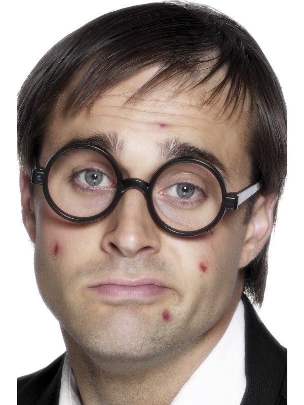 Schoolboy Wizard Specs, Black, No Lenses