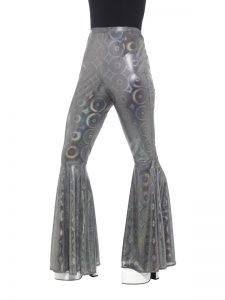 1970s Disco Flared Trousers