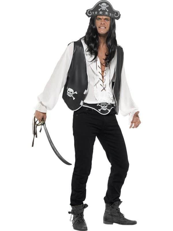 Instant Pirate Set, Black,