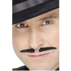 1920s Gangster Black Spiv Style Tash