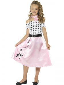1950s Poodle Girl Costume Teen