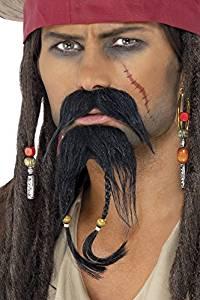 Pirate Jack Sparrow Facial Hair Set