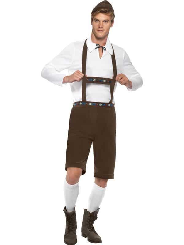 Bavarian Man Oktoberfest Costume Medium