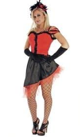 Saloon Girl Costume For Fancy Dress