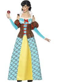 Snow White Style Story Book Fancy Dress Princess Costume