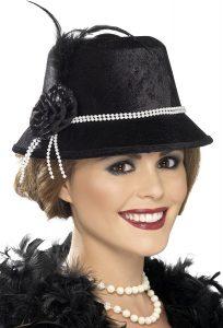 1920s Charleston Flapper Hat