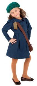 World War II Evacuee Girl Costume