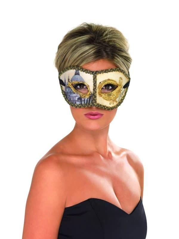 Masquerade Venetian Colombina Eye Mask
