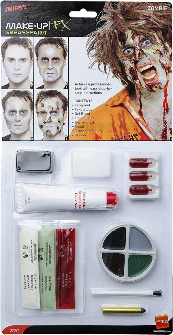 Zombie Make Up FX Latex Kit