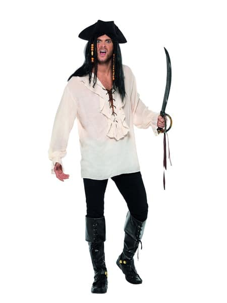 Pirate Shirt Mens