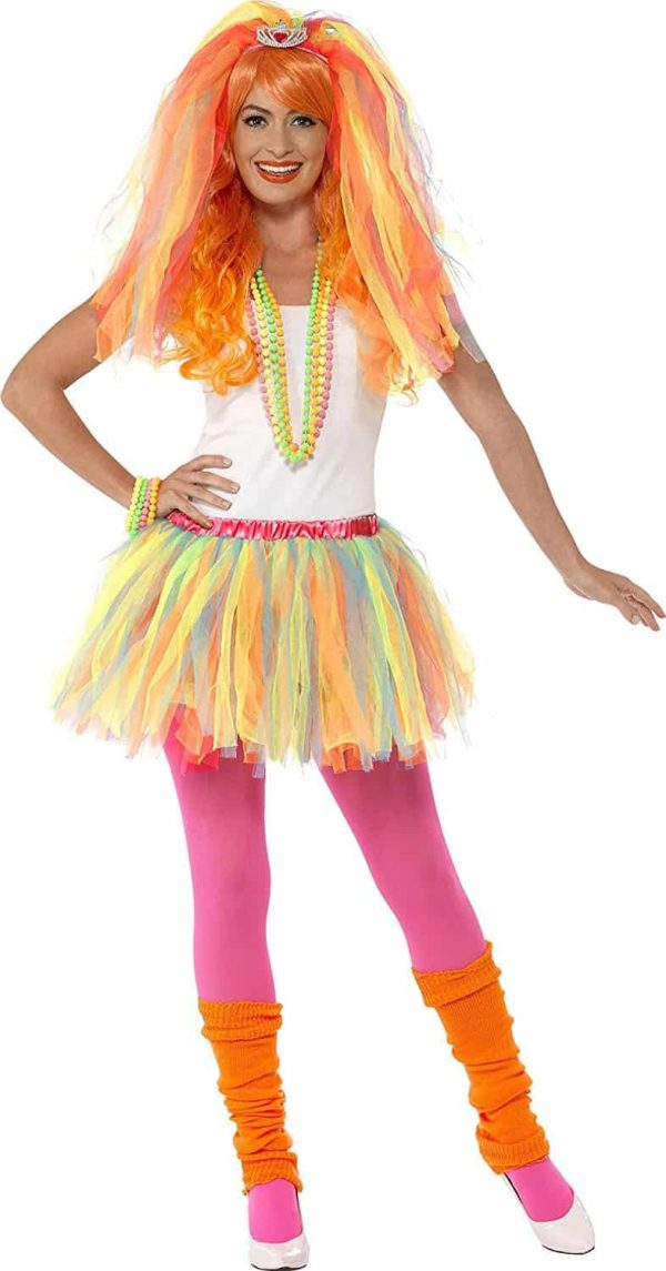 Womens 1980s Party Princess