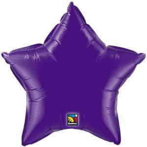 "20"" Foil Purple Star Shape Balloon"