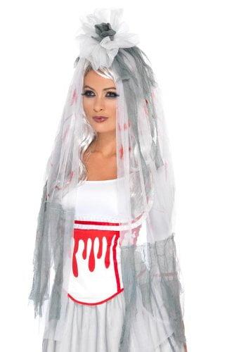 Bride To Be Blood Drip Veil