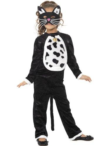 Children's Halloween Cat Costume 7-9