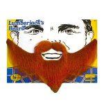 Lumberjack Beard Fancy Dress Brown