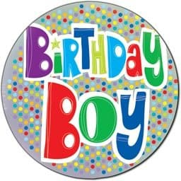 Birthday Boy 18 inch Foil Balloon