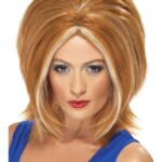 Spice Girl Style Power Wig