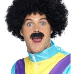 Scouser Wig and Moustache