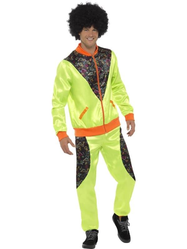 1970s Retro Shell Suit Costume, Mens