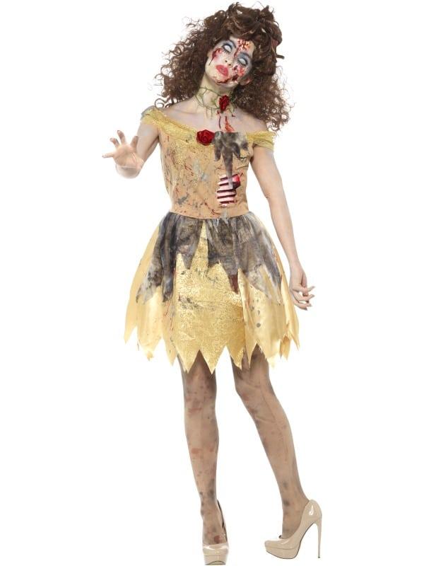 Zombie Belle Style Ladies Fairytale Costume