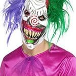 Kolourful Killer Clown Halloween Mask