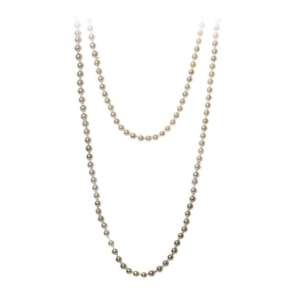 """1920s Charleston 72"""" Flapper Pearls Necklace"""