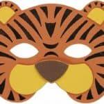 Tiger Mask (Eva Soft Foam) For Fancy Dress