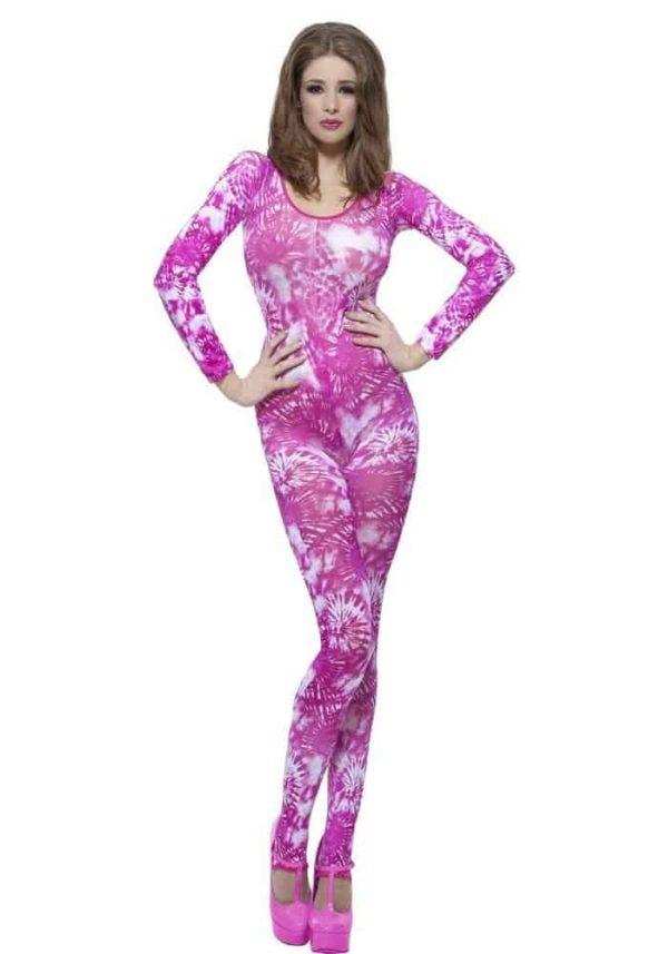 Ladies Pink Bodysuit