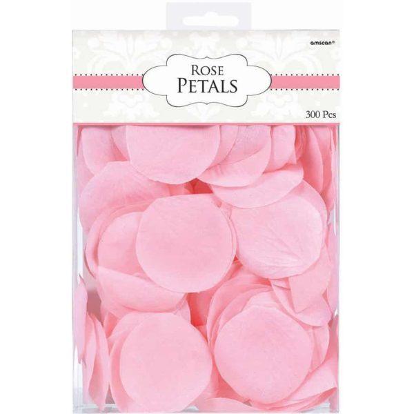 Pink Rose Flower Petal Confetti
