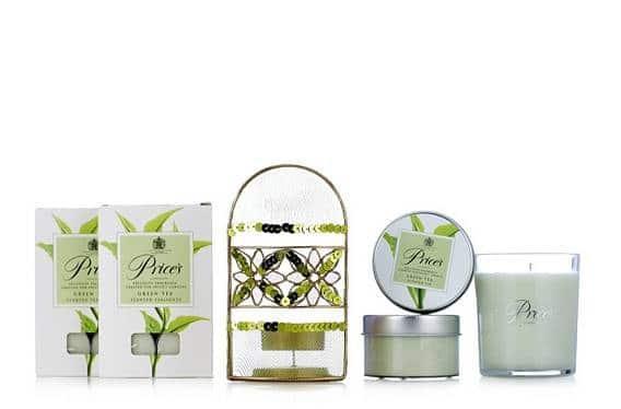 Candles Green Tea Assorted Gift Set
