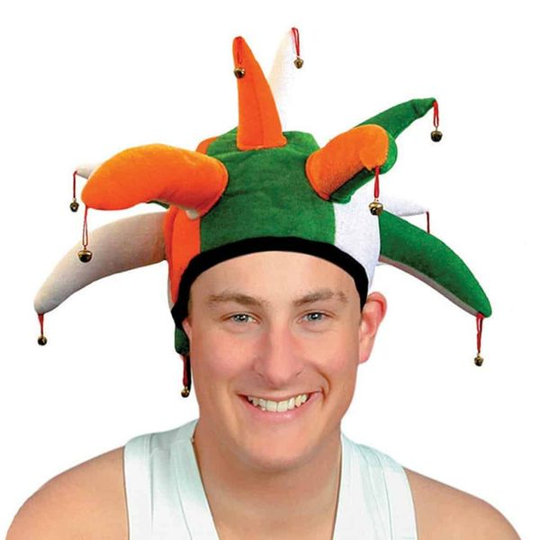 Clown Jester Hat with Bells - St. Patrick's Day