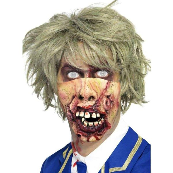 Zombie Halloween Rotting Mouth Mask
