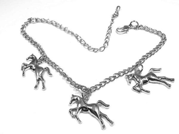 Horse Theme Charm Bracelet