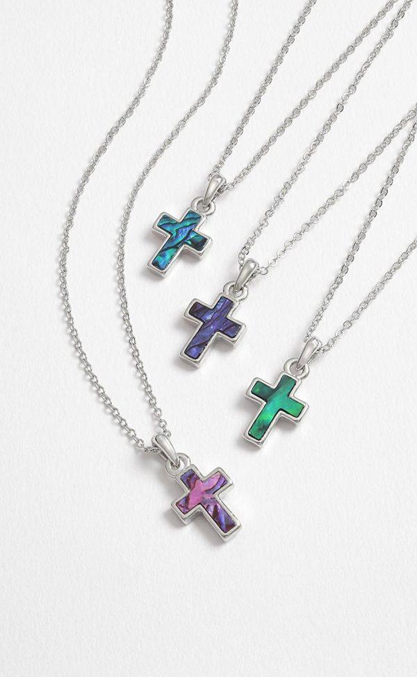 Shell cross Necklace pendant