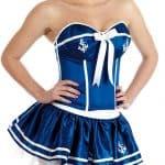 Cheeky Sailor Adult Womens Fancy Dress Costume