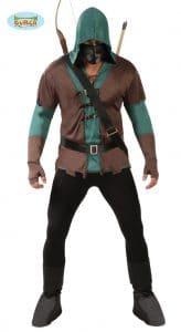 Adult Mens Robin Hood, Archer, Arrow Costume