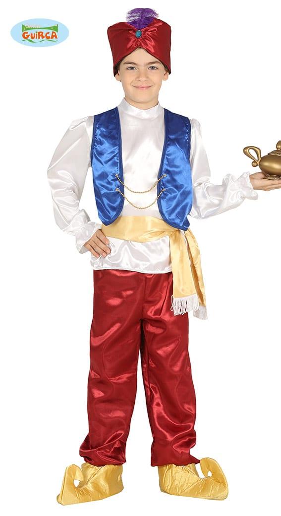 Childrens Arabian Prince Aladdin Costume size 7-9 years