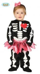 Babies Cute Skeleton Costume 6-12 Months