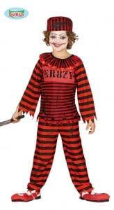 Childrens Clown Prisoner Costume 7-9