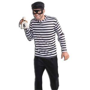 Adult Mens Burglar Costume