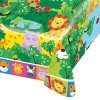 Party Jungle Friends Plastic Table Cover