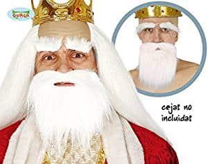 Christmas Santa Shepherd Wise Man Nativity Short White Beard