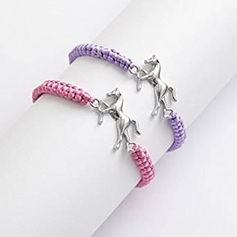 Horse Themed Cord Bracelet