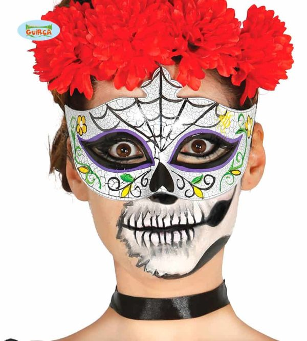 Halloween Zombie Day of the Dead Eye mask