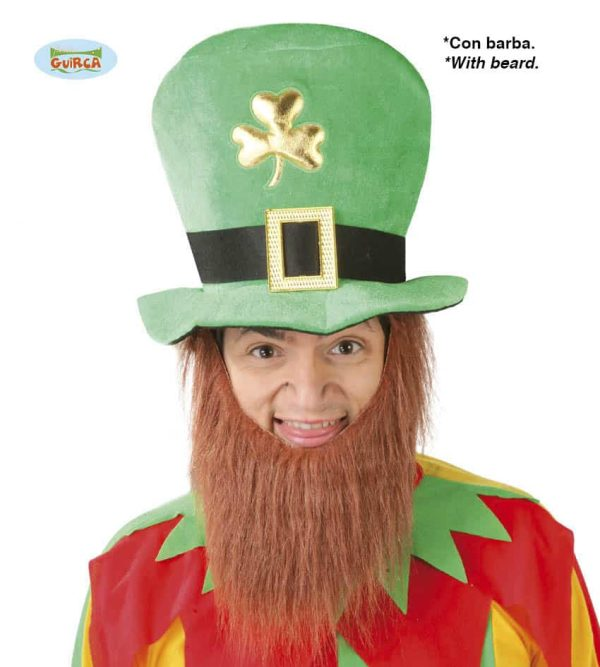St Patricks Day Irishman Hat With Beard