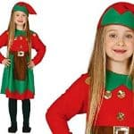 Childrens Elf Costume