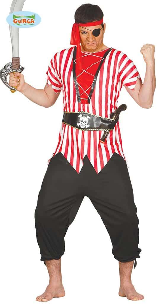 Mens Pirate Sailor Costume